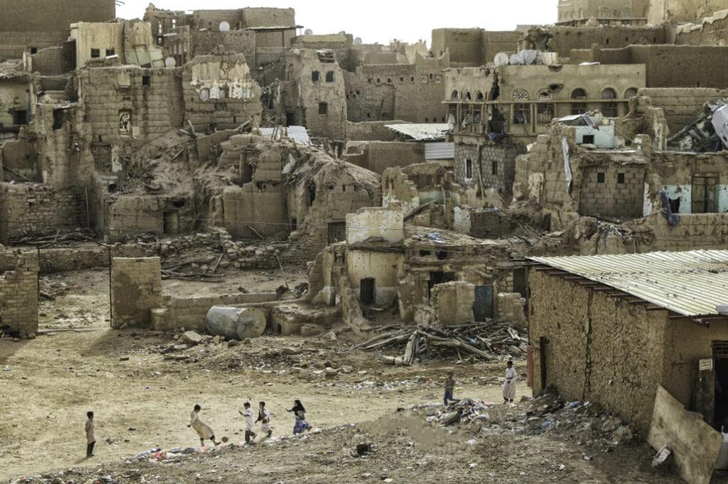 jemen is verwoest
