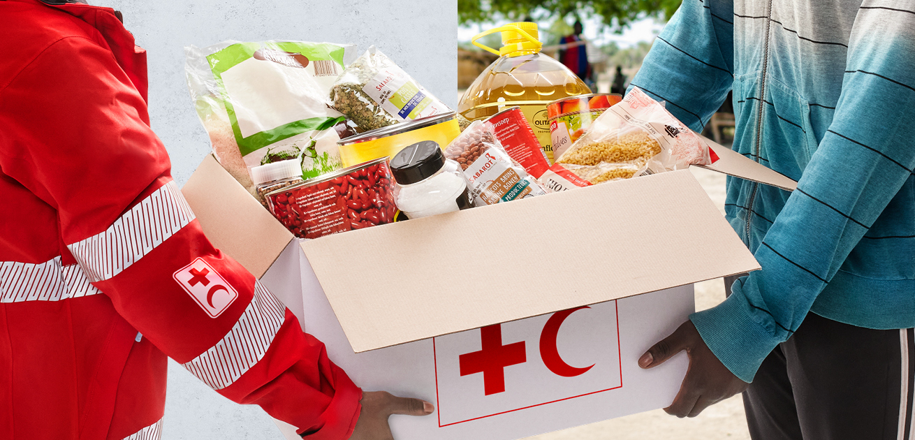 Rode kruis voedseltekort