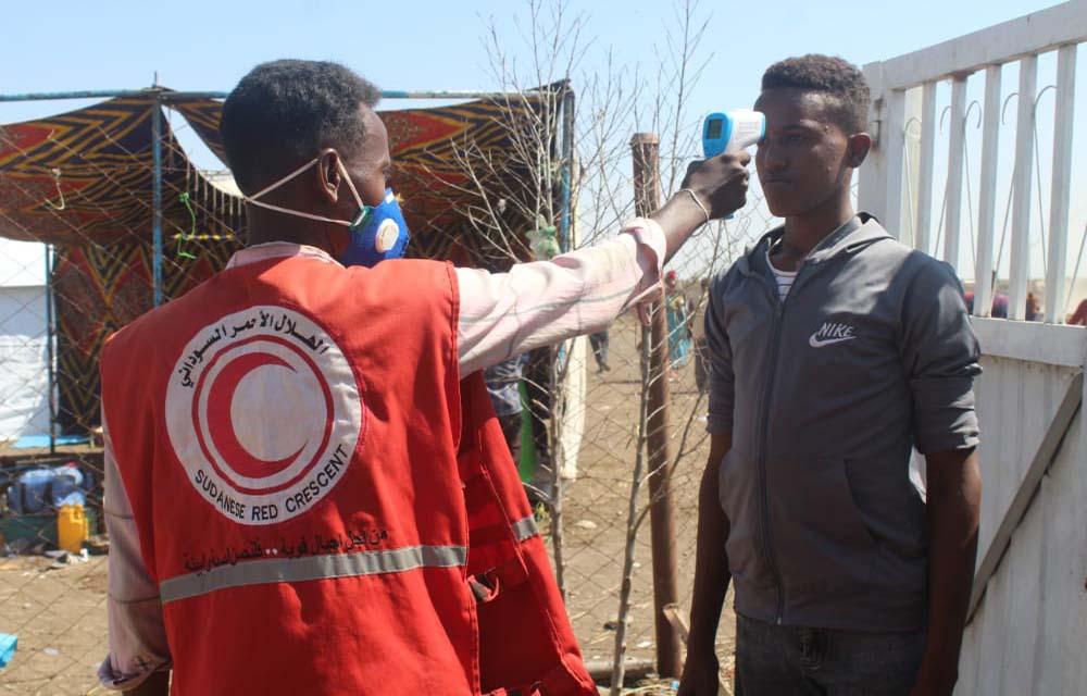 Coronacheck in Soedan