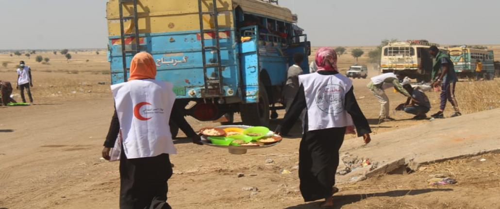 Eten voor vluchtelingen Soedan