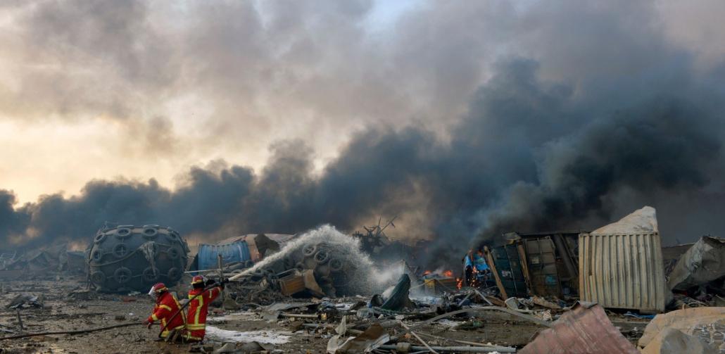 Explosie in Libanon