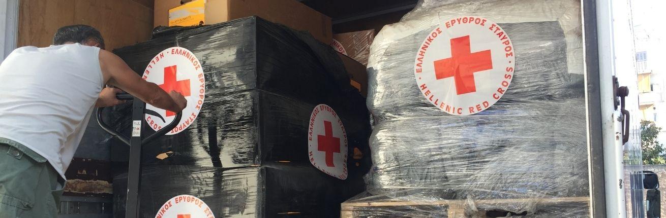 Rode Kruis: geef bewoners Moria veilige plek
