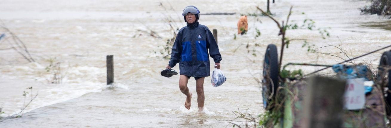 Overstromingen Vietnam