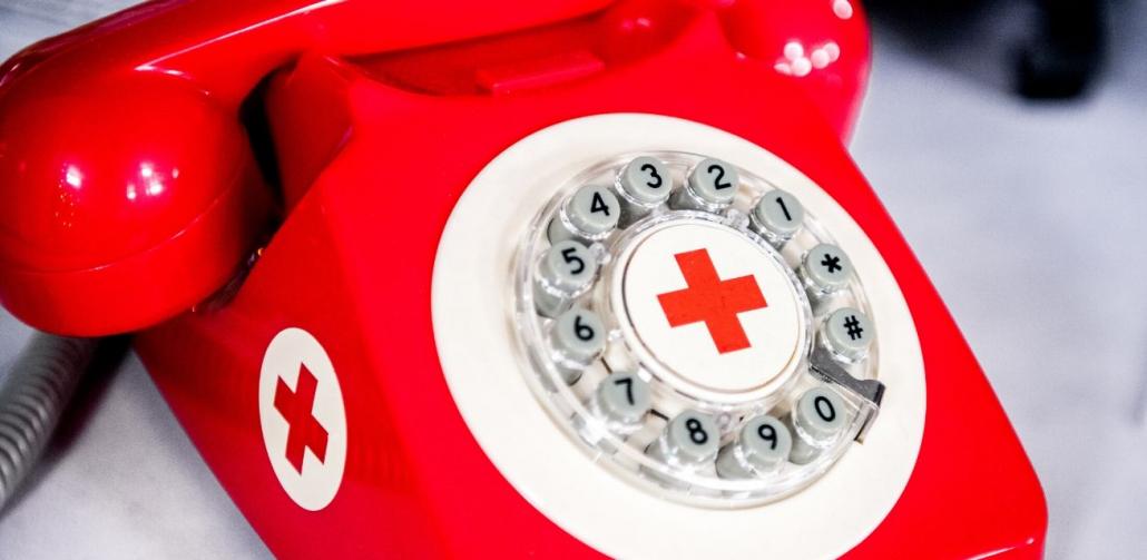 Rode Kruis Hulplijn Ferdy Damman