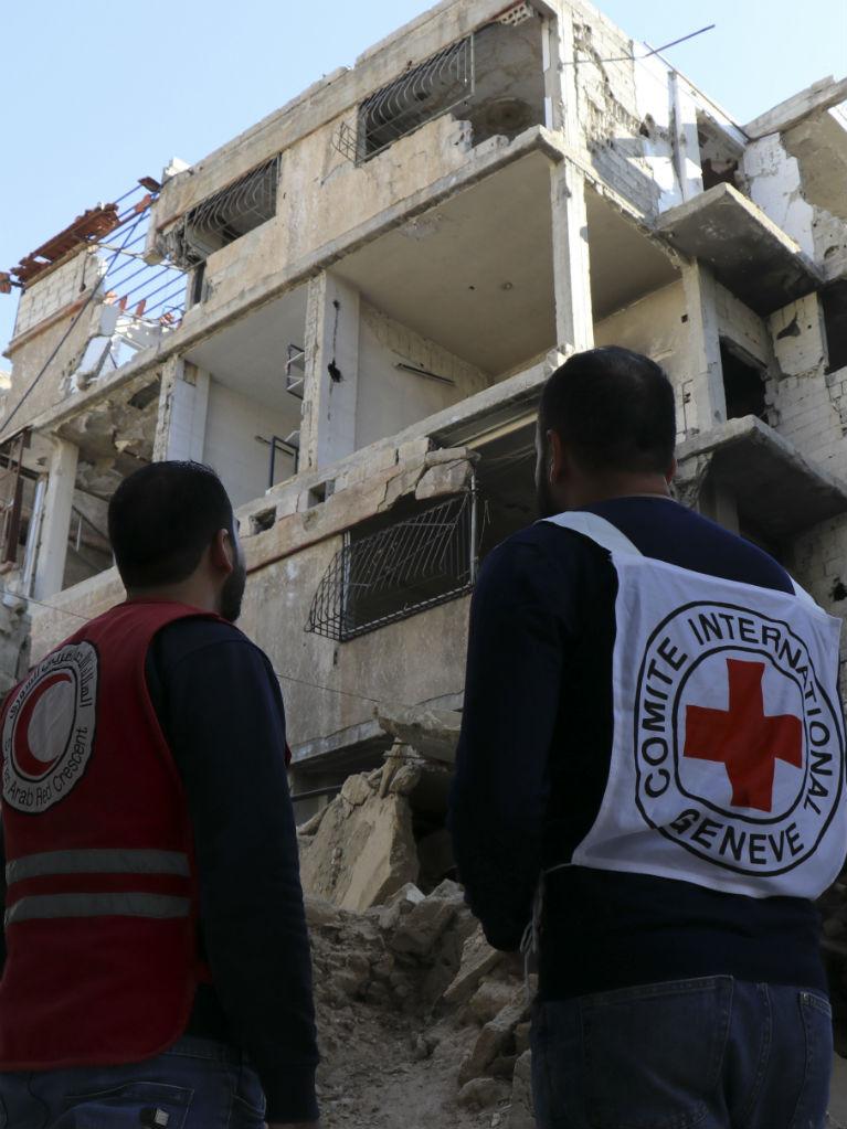 Syrie-oorlog-Rode-Kruis