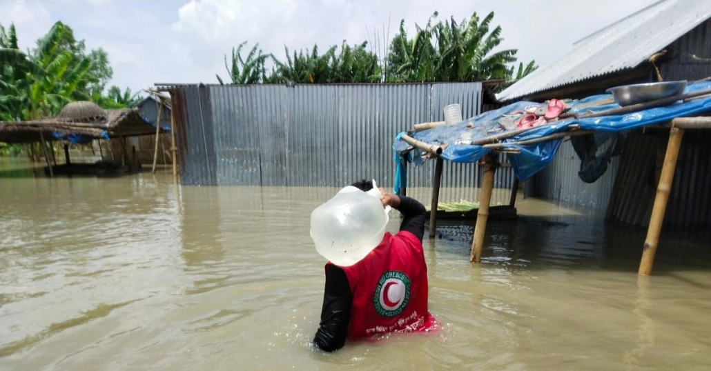 overstromingen in Zuid-Azië