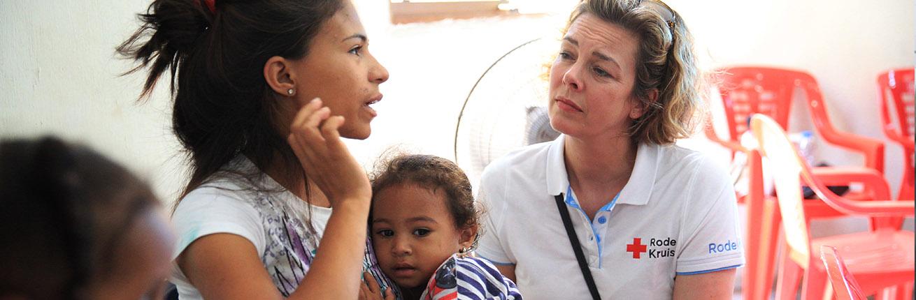 Venezuela , rode kruis ARIE KIEVIT