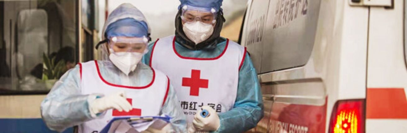 Vrijwilligers-Chinese-Rode-Kruis