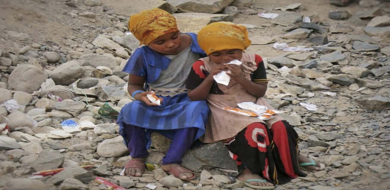 kinderen in Jemen