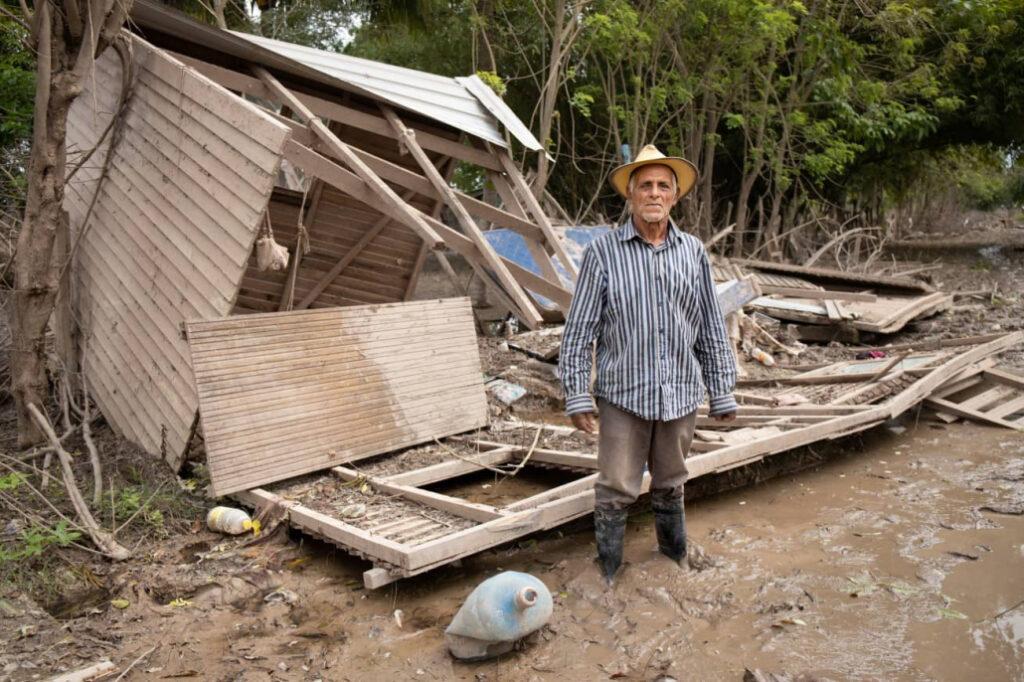 orkanen laten niets heel