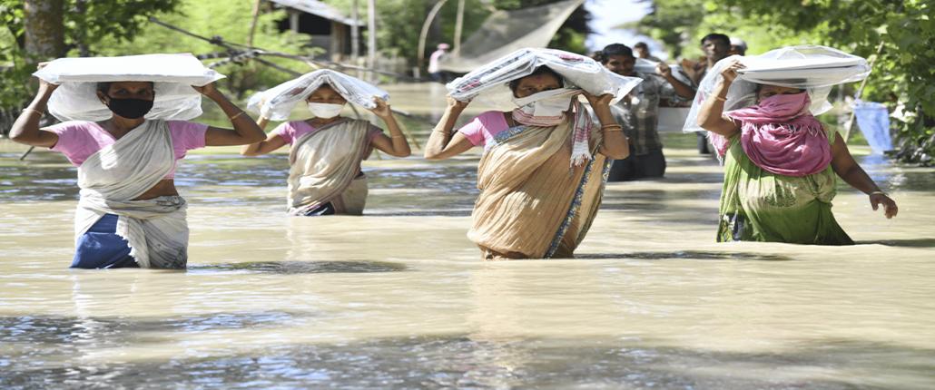 overstromingen in india