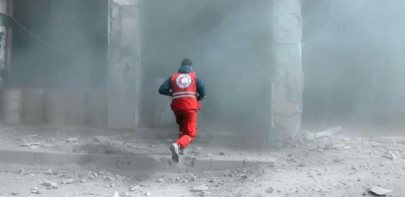 syrie oorlog noodhulp rode kruis hulpverlener