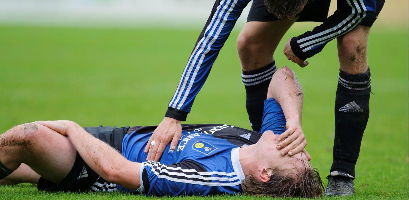 ehbso sport voetbal blessure