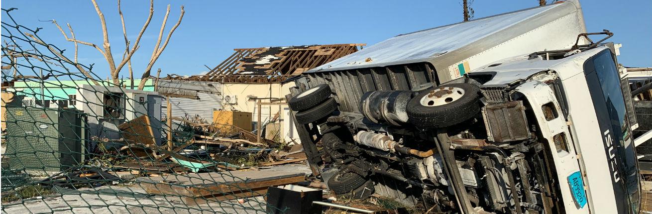 Gevolgen orkaan Dorian Bahamas