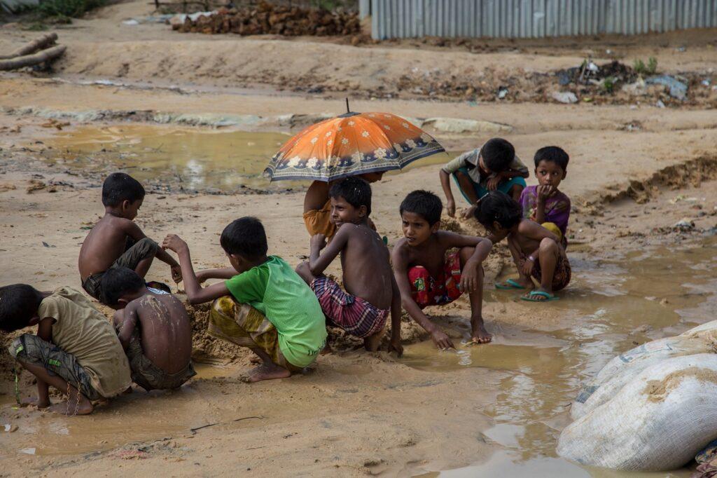 Kinderen Kutupalong Bangladesh