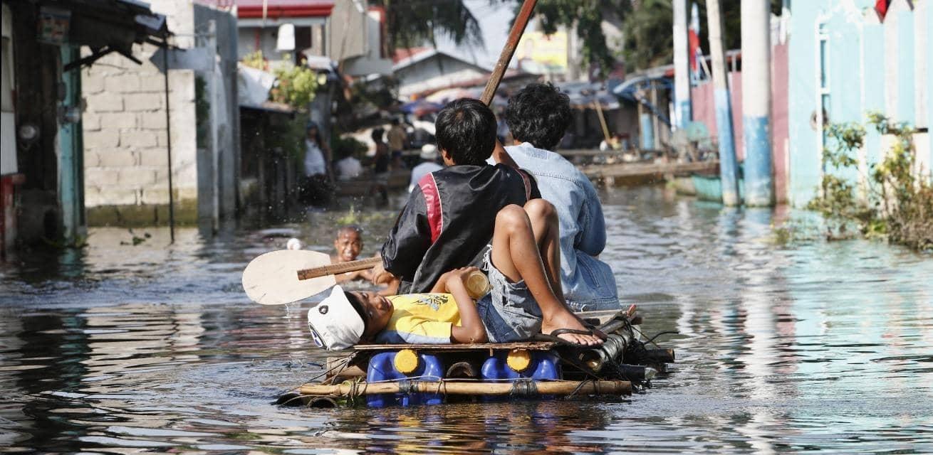 Lespakket Woeste Wereld over natuurrampen