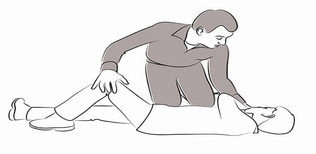 Stabiele zijligging stap 3