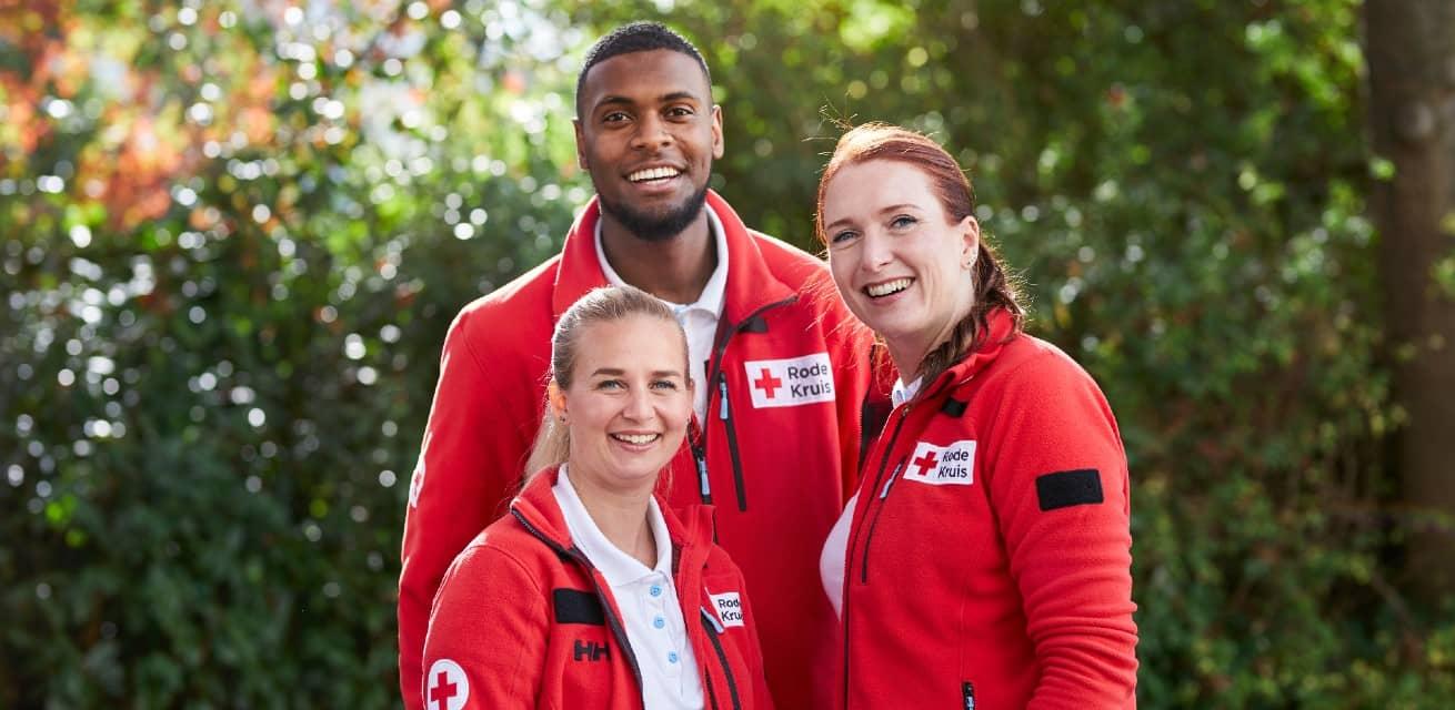 Word vrijwilliger bij het Rode Kruis en vind vrijwilligerswerk dat bij je past