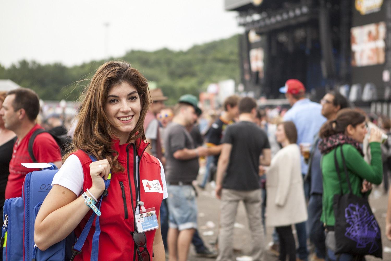 rode kruis evenementenhulpverlener