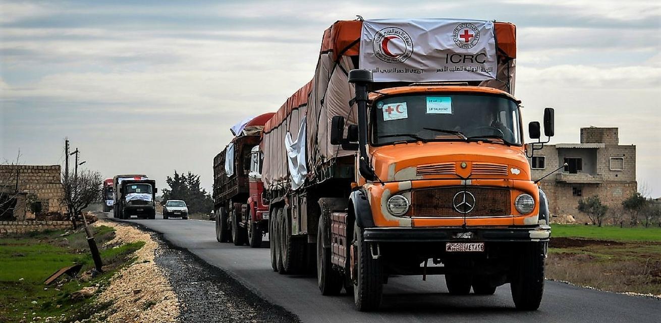 hulpkonvooi truck