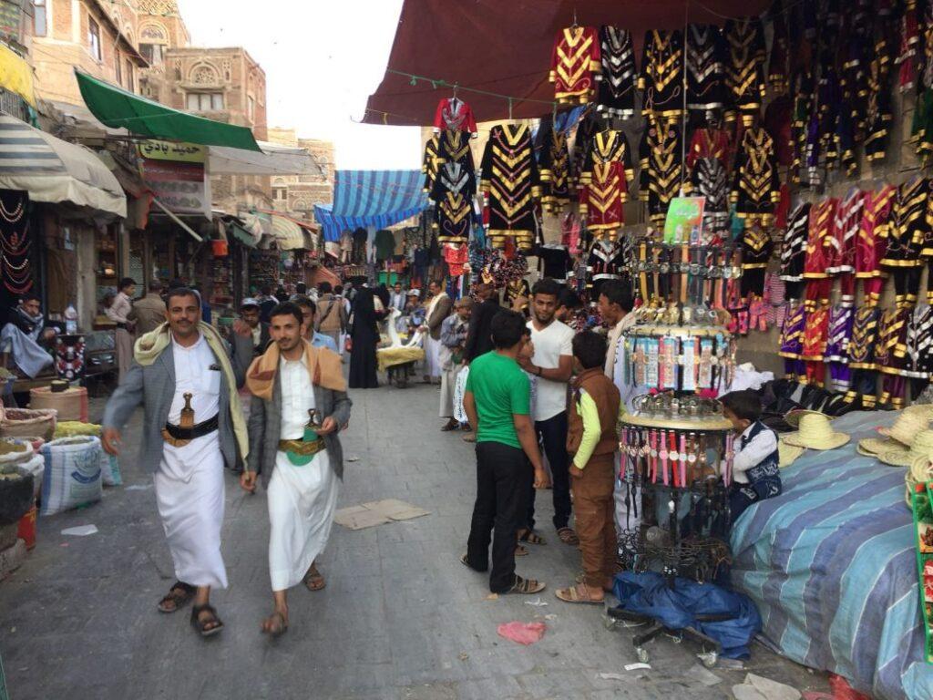 even van alledag in Jemen