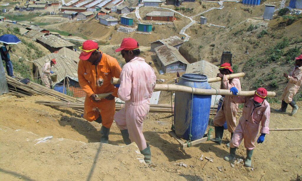 mannen Kutupalong vat IFRC