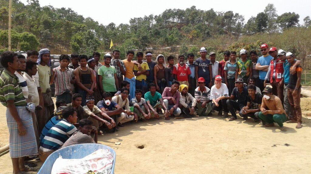team bangladesh kutupalong