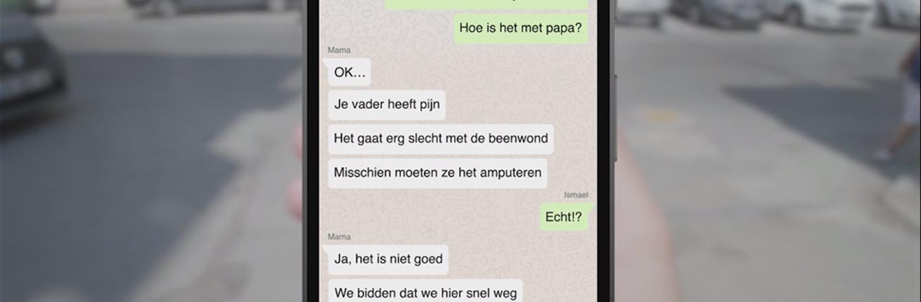 whatsappgesprek