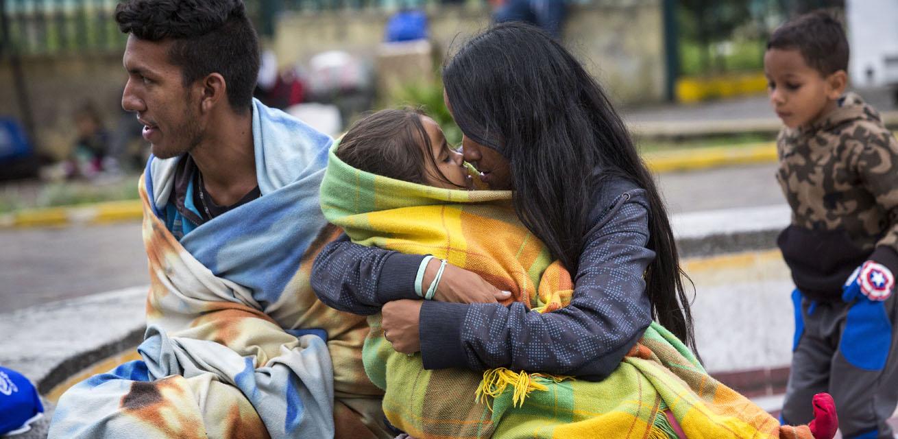 vluchtelingen in venezuela