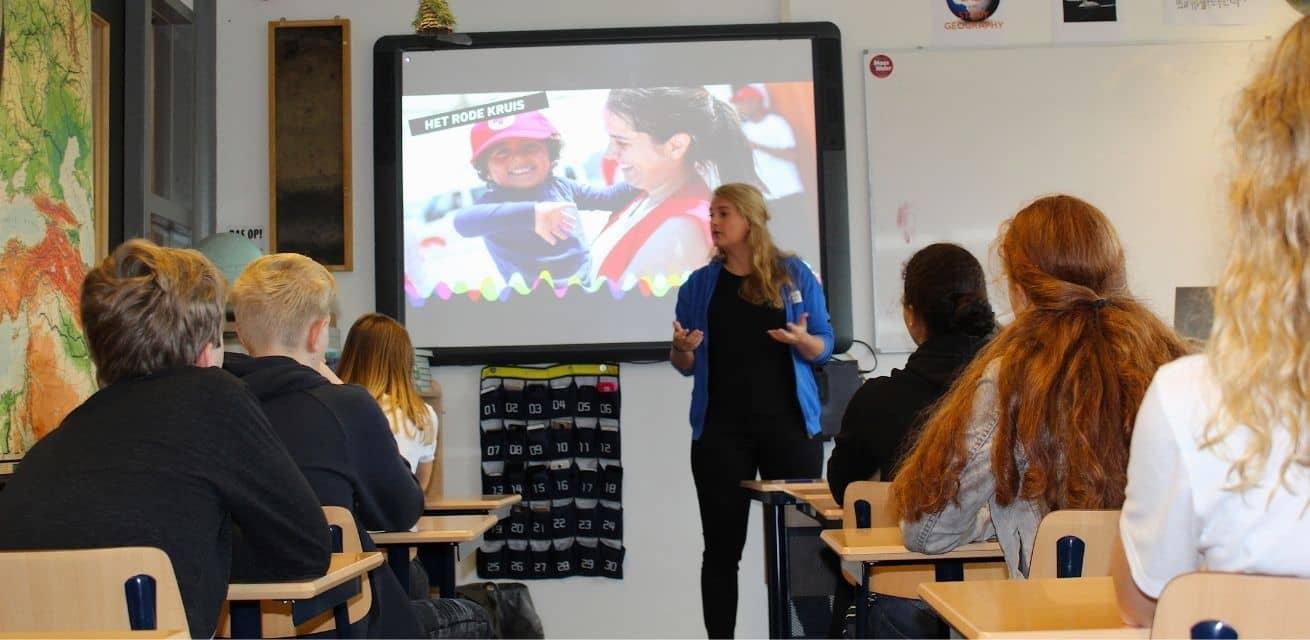 Kom in actie met jouw klas voortgezet onderwijs Rode Kruis