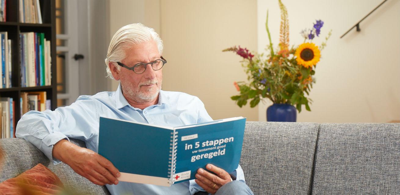 Nalatenschap regelen 5 stappen boekje Rode Kruis