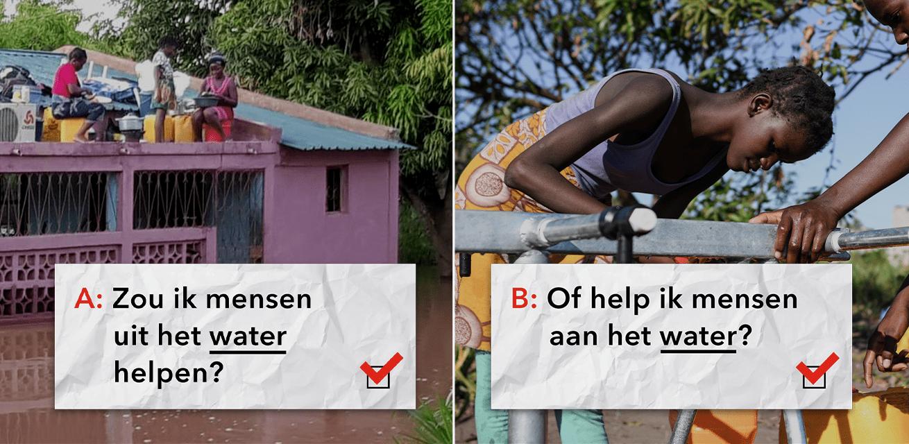 Rode Kruis dilemmaspel Mozambique