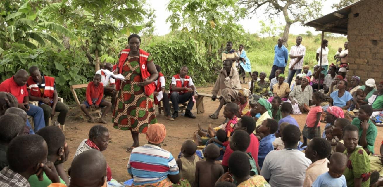 Rode Kruis in Oeganda