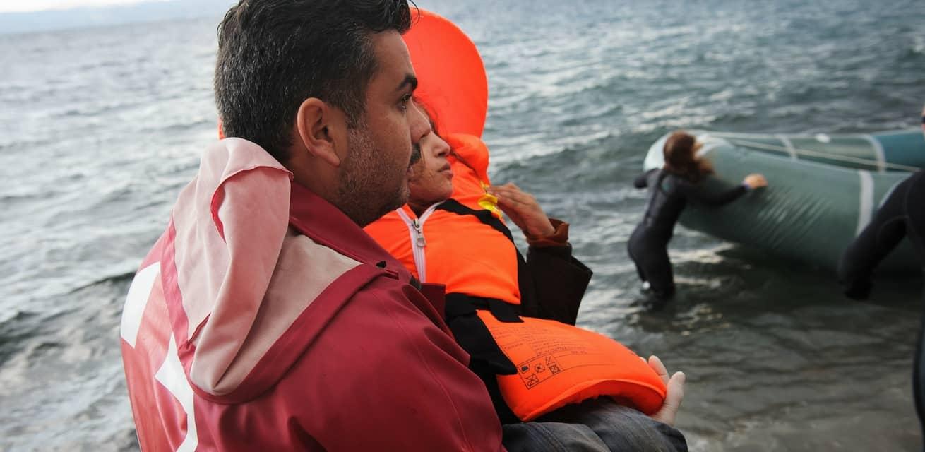 vluchtelingen crisis lesbos