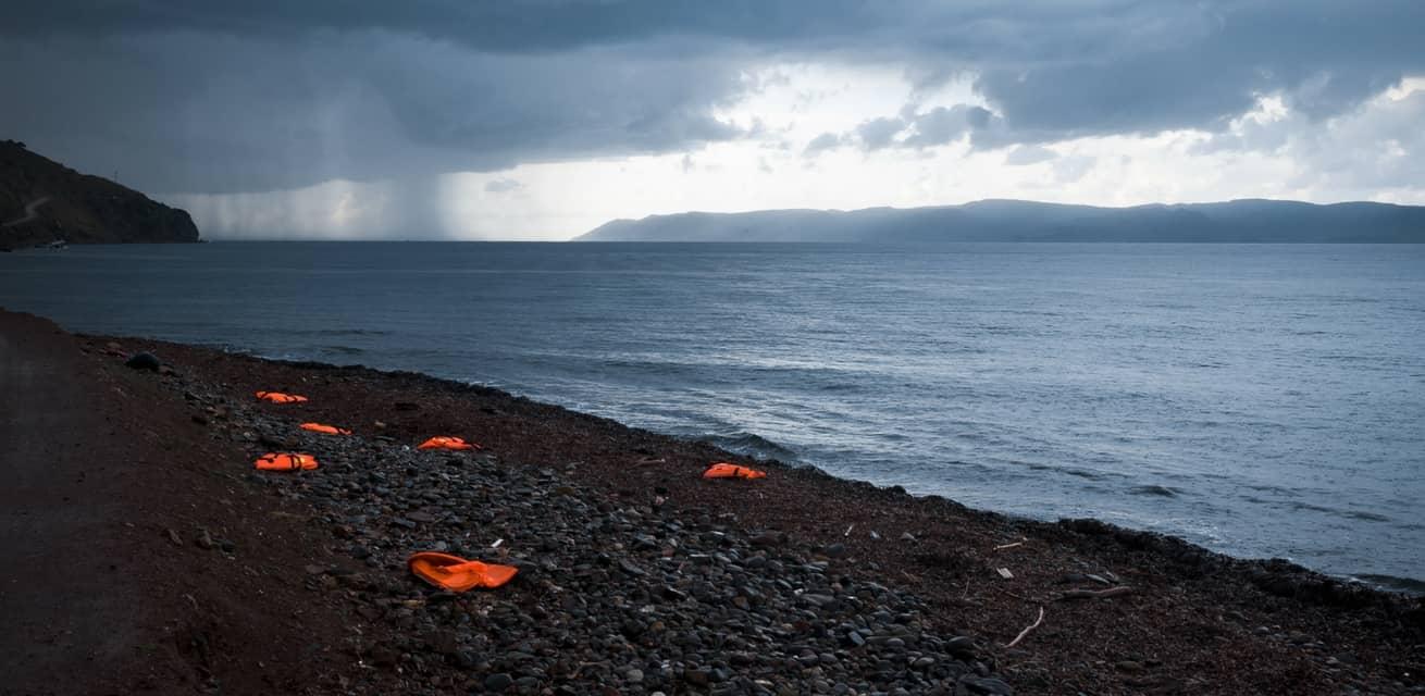 vluchtelingen crisis europa reddingsvesten lesbos griekenland