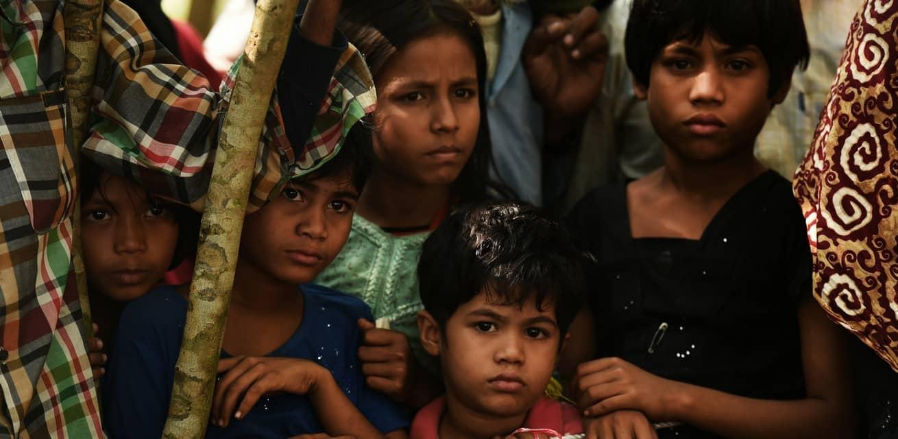 zuid azie kinderen bangladesh coxs bazar