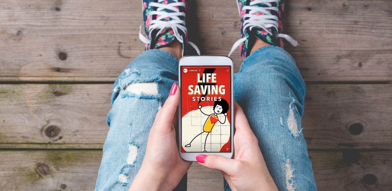 Word-een-life-saver-met-Life-Saving-Stories