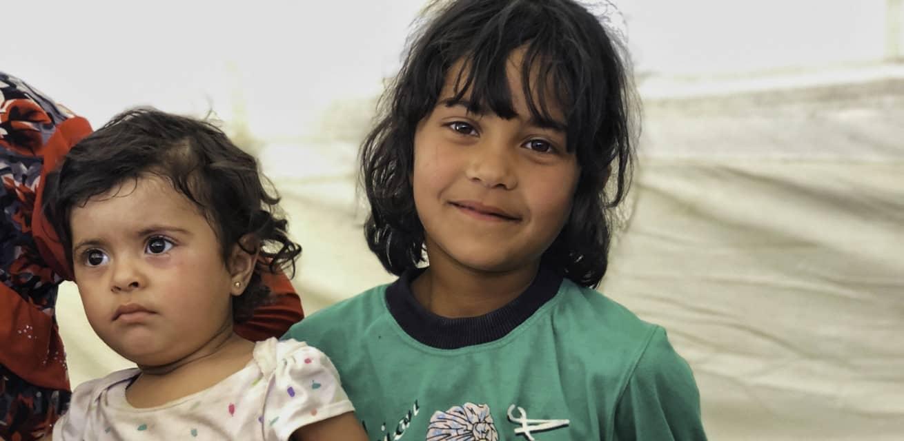 veel inwoners van kamp Al Hol in Syrie zijn kind Rode Kruis