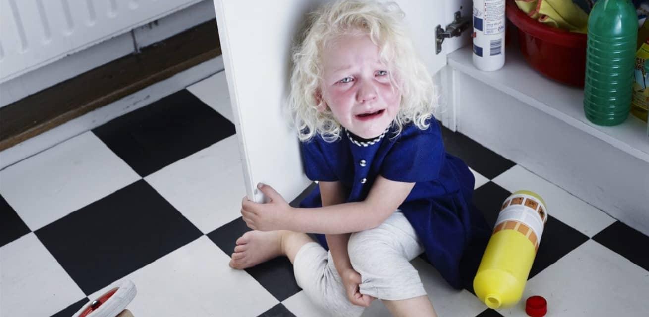 vergiftiging van een kind door schoonmaakmiddelen instagram bio rode kruis