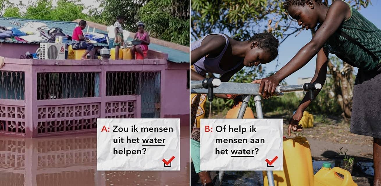 Dilemmaspel Mozambique keuzes maken