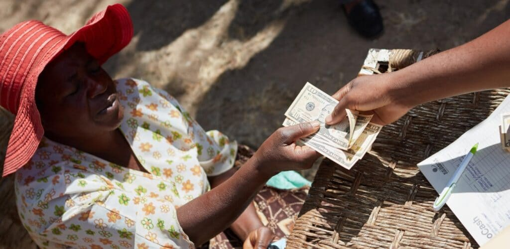 contanthulpverlening Zimbabwe Rode Kruis